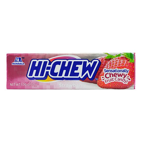 Hi Chew Jordgubb - 50 gram