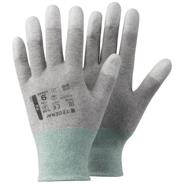 Tegera 810 Hanske Karbon/Nylon Størrelse 6