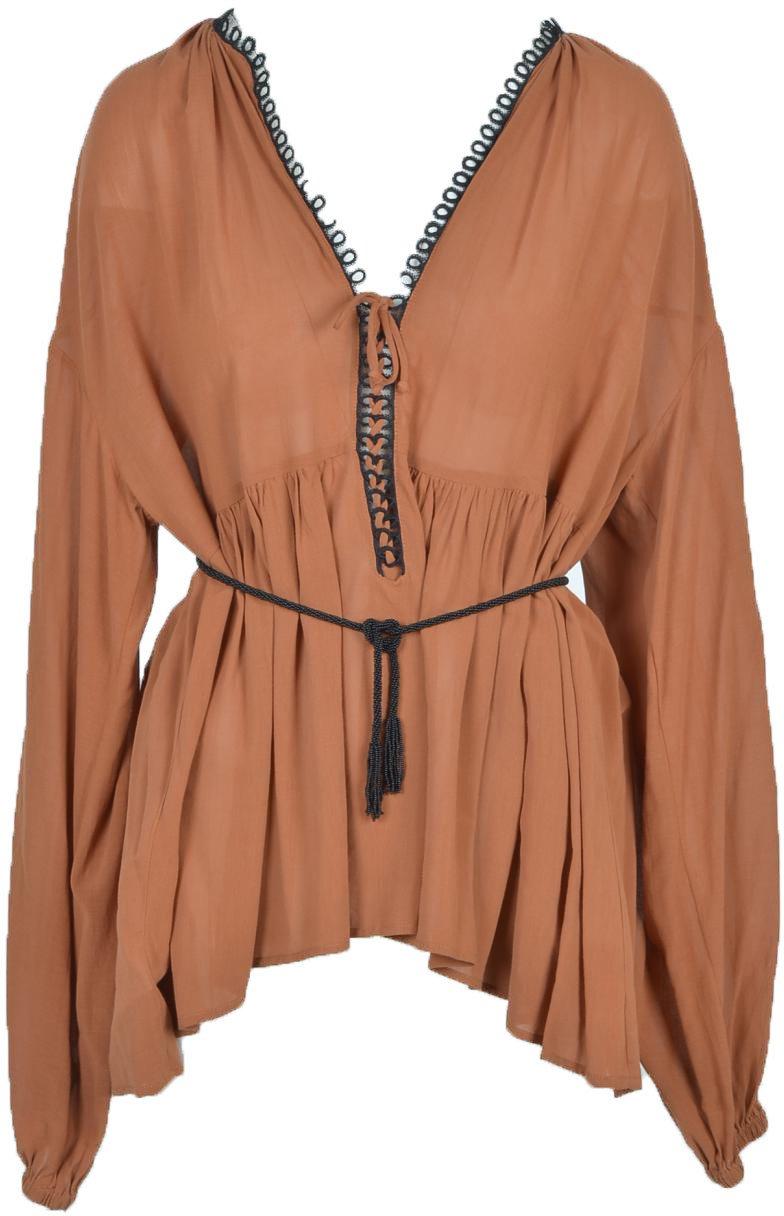 Pinko Women's T-Shirt Multicolor 263155 - brown 40