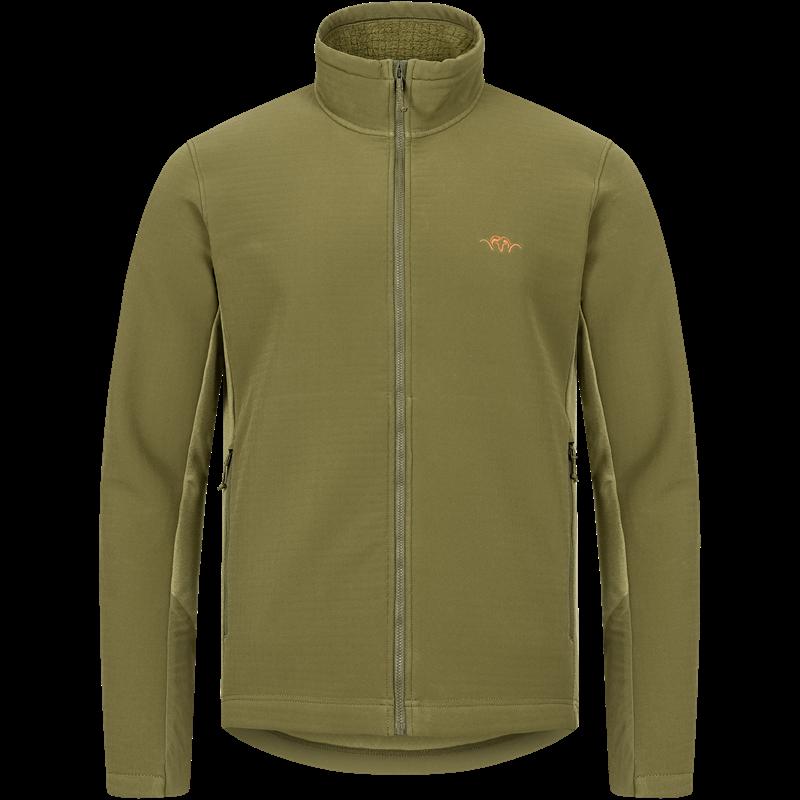 Blaser Flash jakke L Dark Olive Allsidig og værbestandig mellomlagsjakke