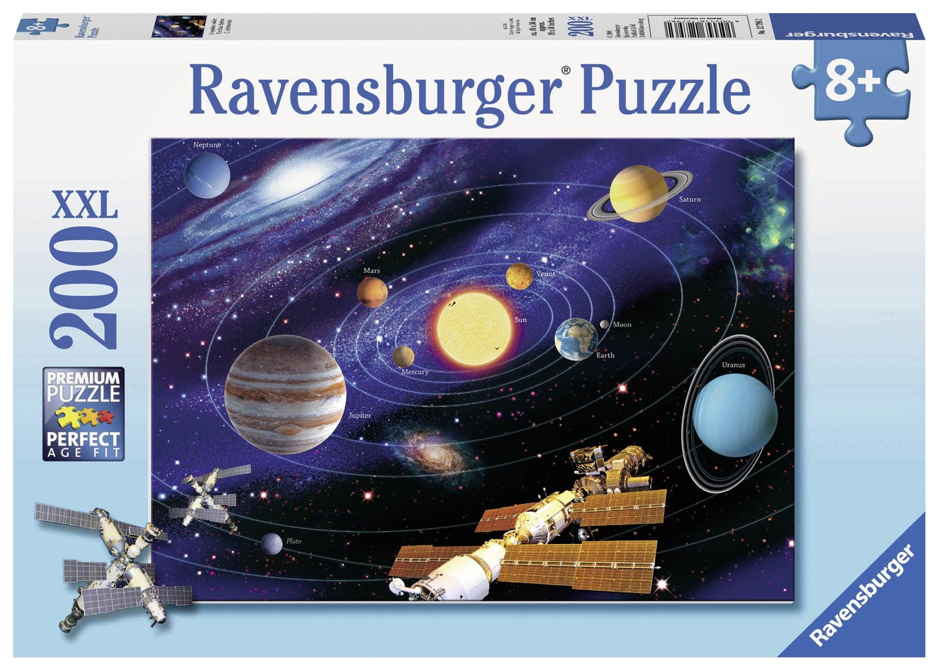Ravensburger Pussel Solsystemet 200 Bitar