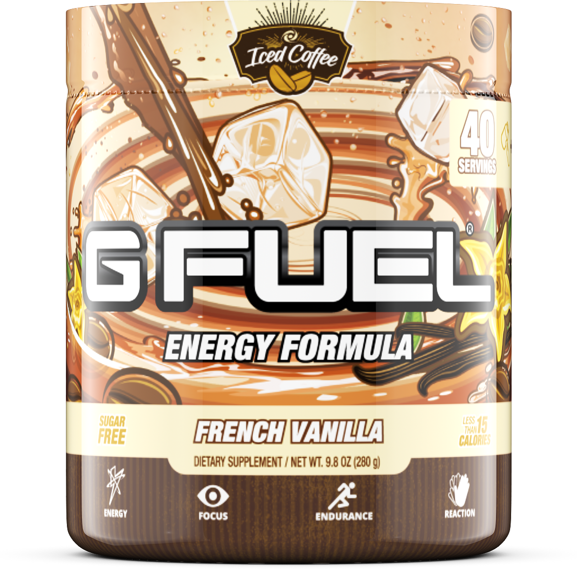 G Fuel - Coffee French Vanilla - 40 servings