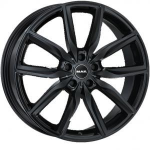 MAK Allianz Gloss Black 8x19 5/112 ET47 B66.6
