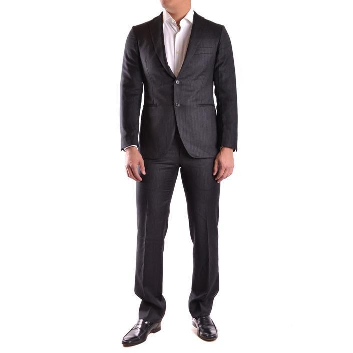 Burberry Men's Suit Black 164024 - black 48