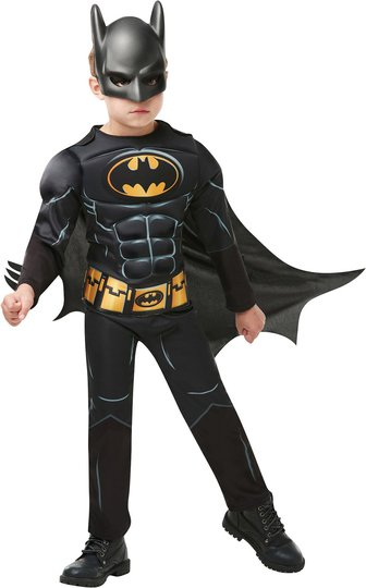 Batman Kostyme Deluxe 3-4 år