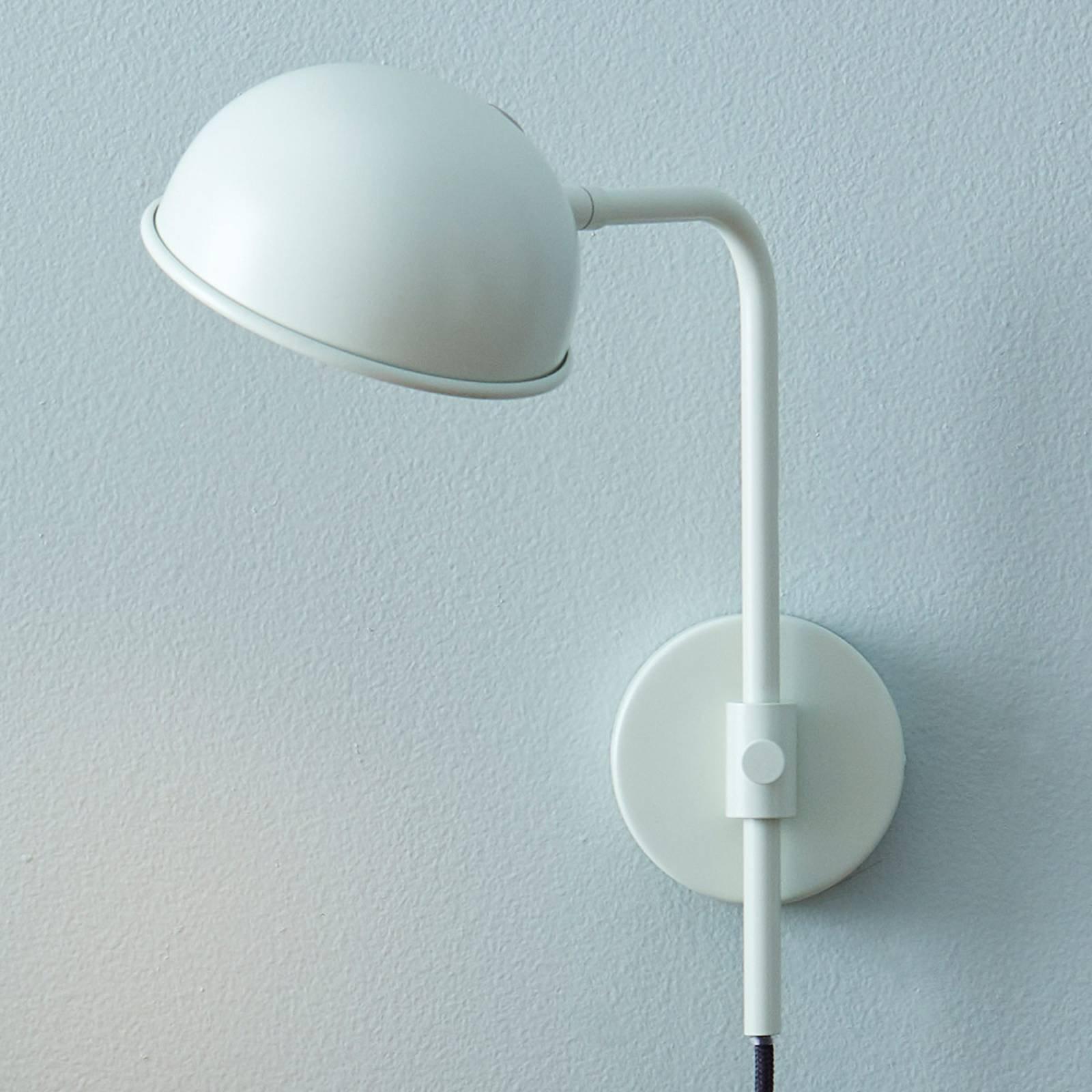 LED-vegglampe Bolero med dimmer, pistasj