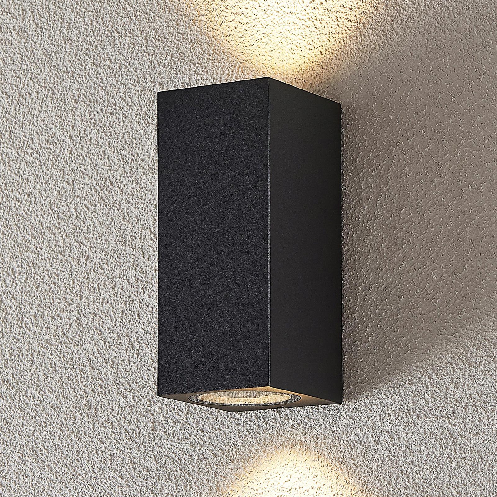 Ulkoseinäkohdevalaisin Lavina GU10 2-lamp.