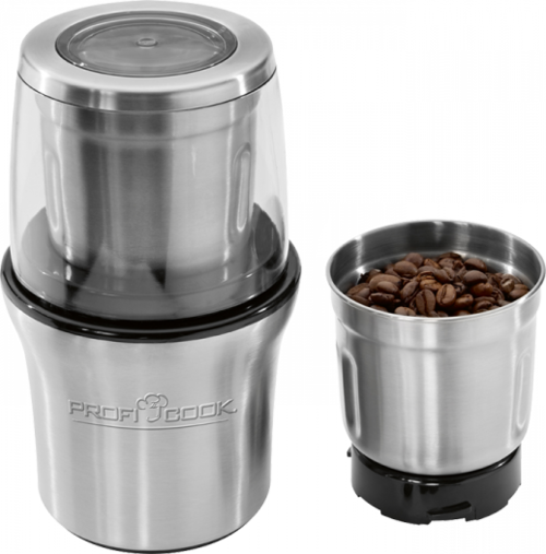 Profi Cook Ksw 1021 Kaffekvarn - Rostfritt Stål