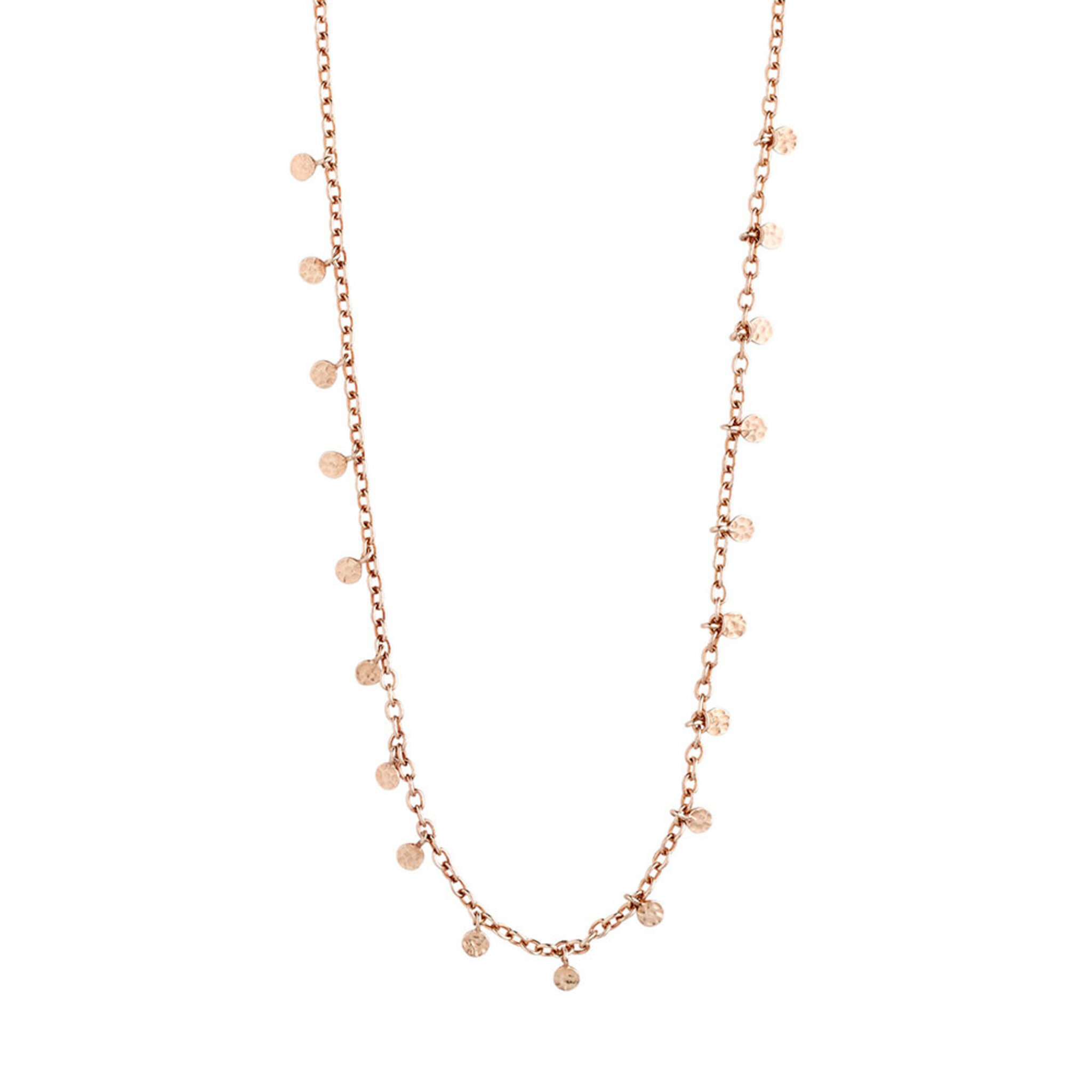 Necklace : Panna : Rose Gold Plated, ONE SIZE