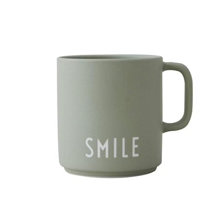 GREEN SMILE Favourite Mugg med handtag