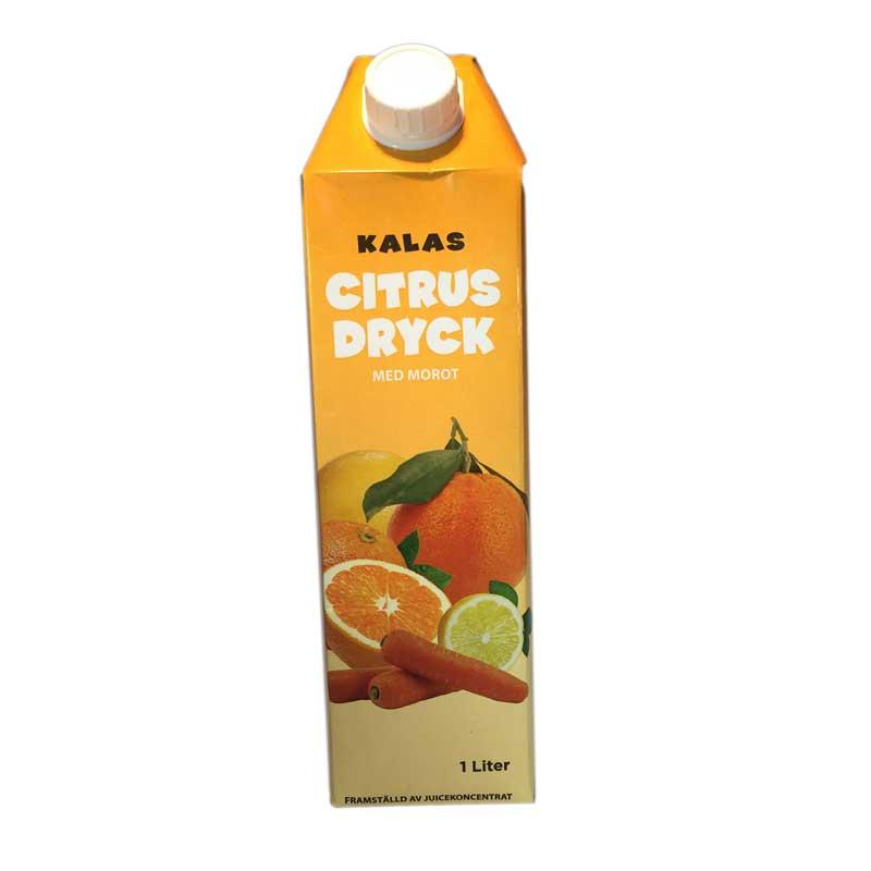 Citrus Dryck med morot - 76% rabatt