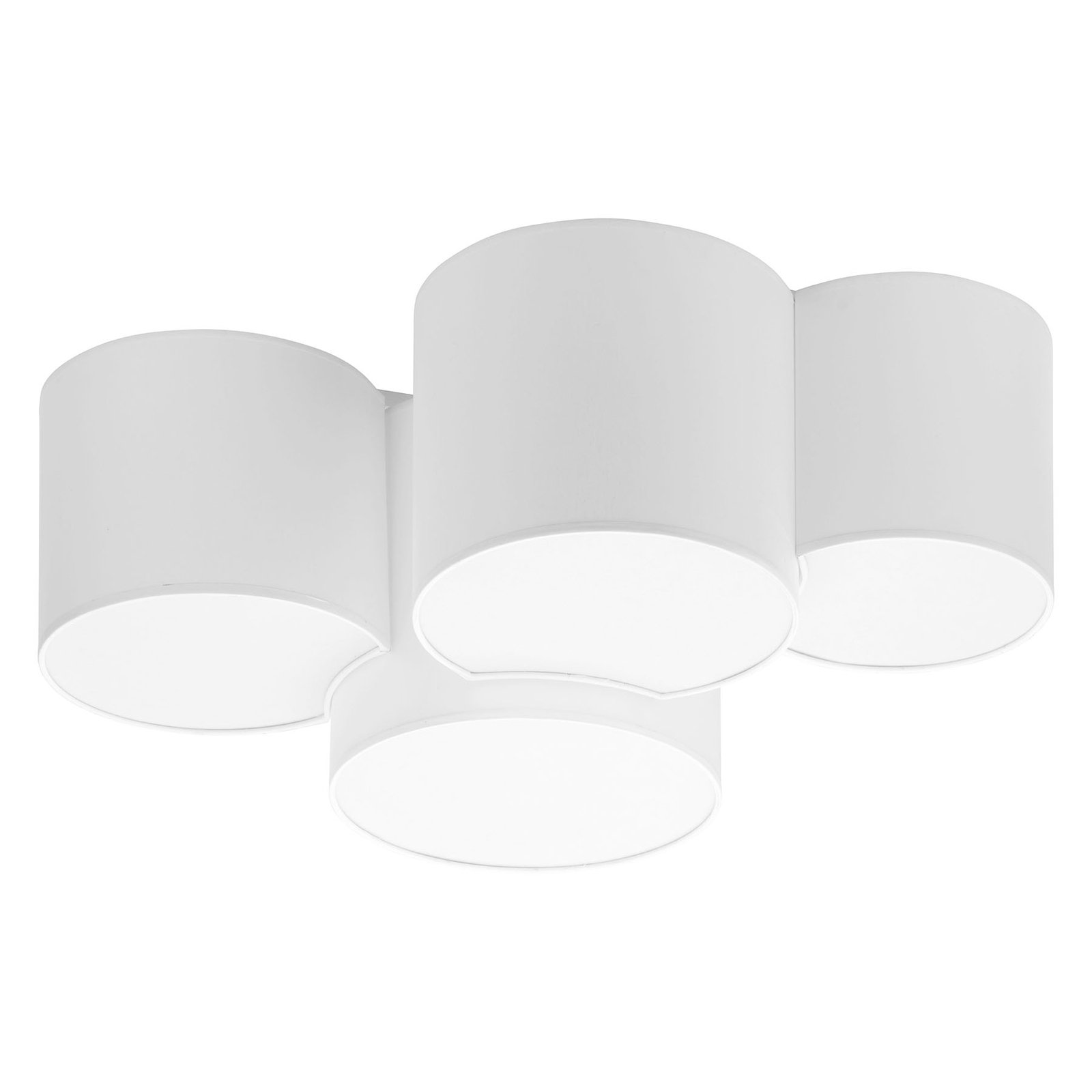 Taklampe Mona fire lyskilder, hvit