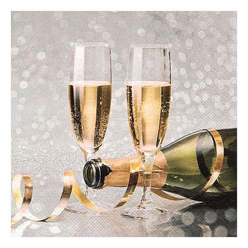 Servetter Champagne - 20-pack
