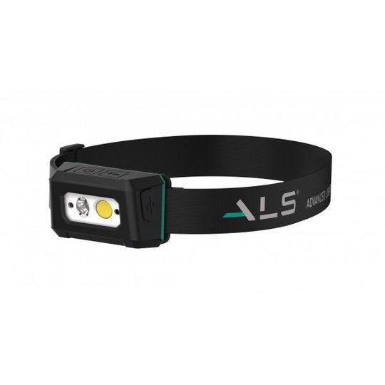 ALS HDL201R Otsalamppu 200 lm ladattava liiketunnistimella