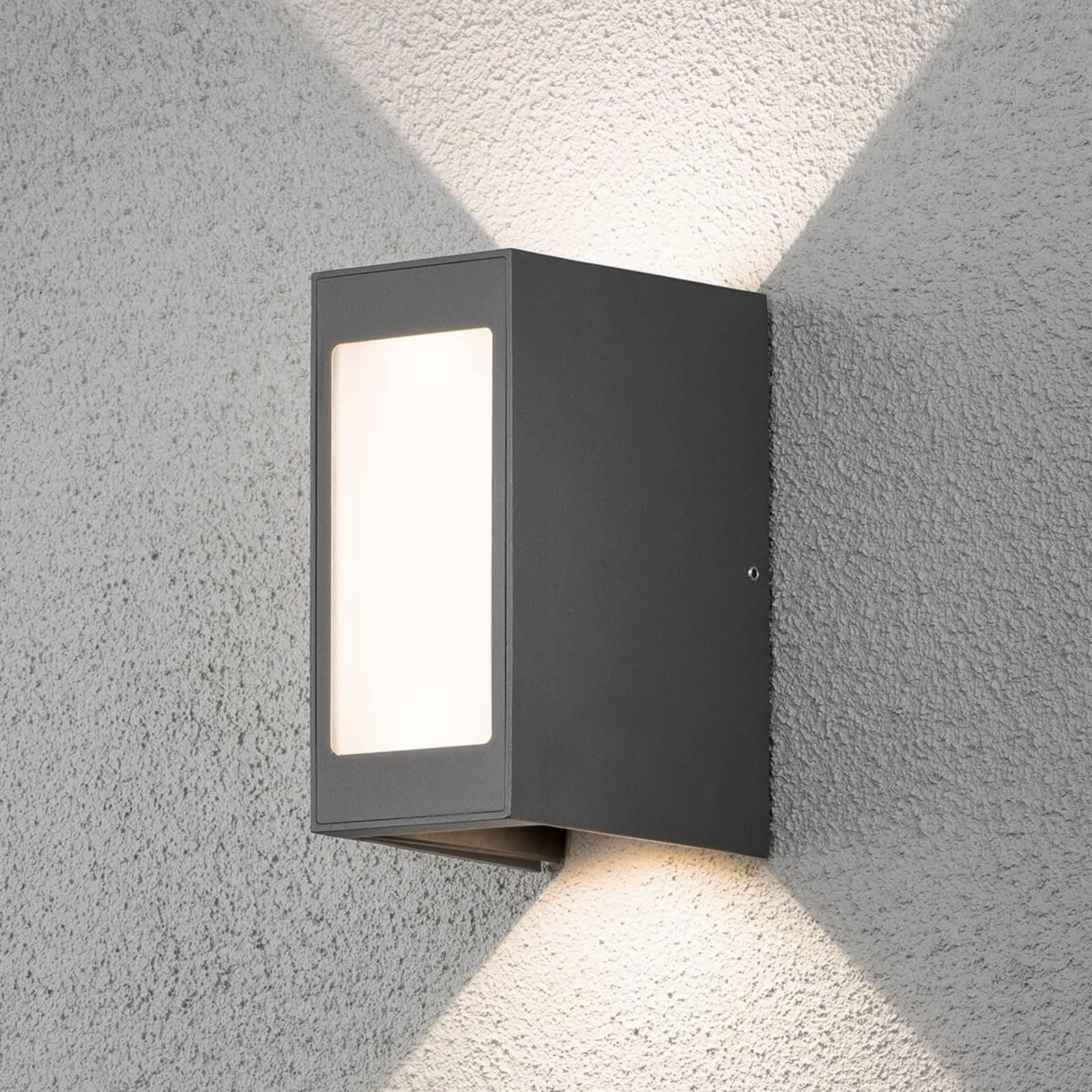 LED-seinävalaisin Cremona – säädettävä valon kulma