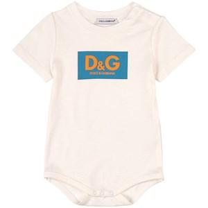 Dolce & Gabbana Logo Baby Body Vit 6-9 mån