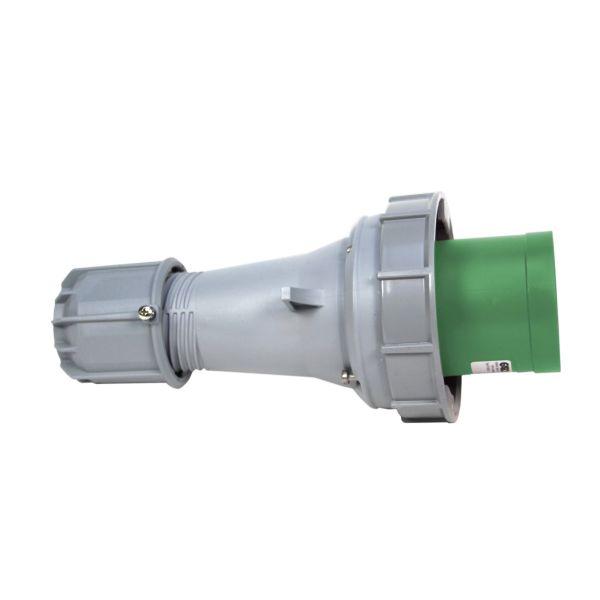 Garo PV 3125-10 S Støpsel IP67, 4-polet, 125 A, grønn Klokkeslett 10 h