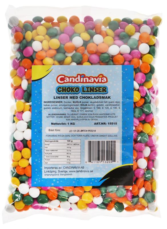 Chokladlinser - 29% rabatt