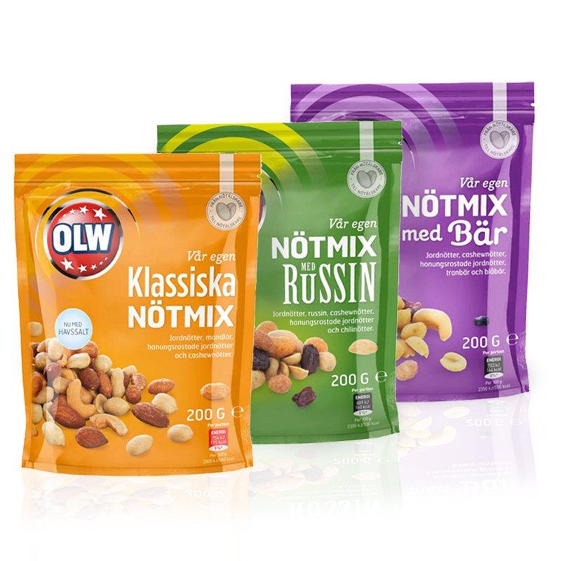 OLW Nötmix-Paketet - 57% rabatt