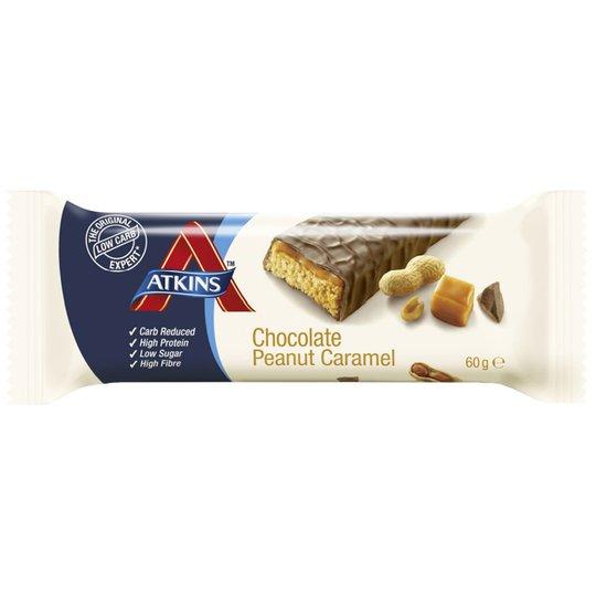 """Proteiinipatukat """"Chocolate, Peanut & Caramel"""" 60g - 20% alennus"""