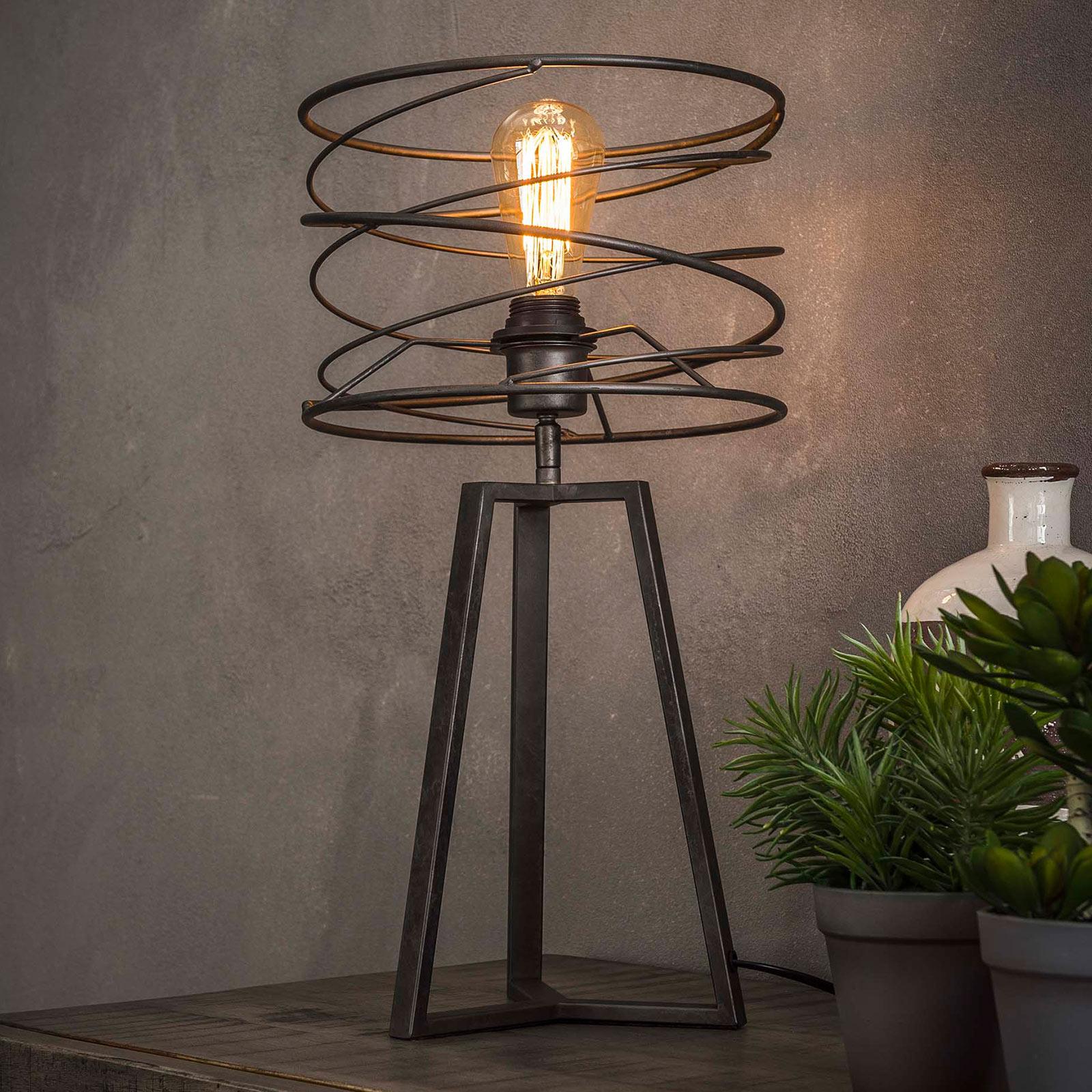 Pöytälamppu Swirlaronda, 1-lamppuinen