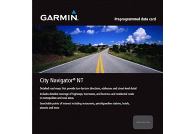 Garmin Mellanöstern + Nordafrika NT Garmin microSD™/SD™ card: City Navigator