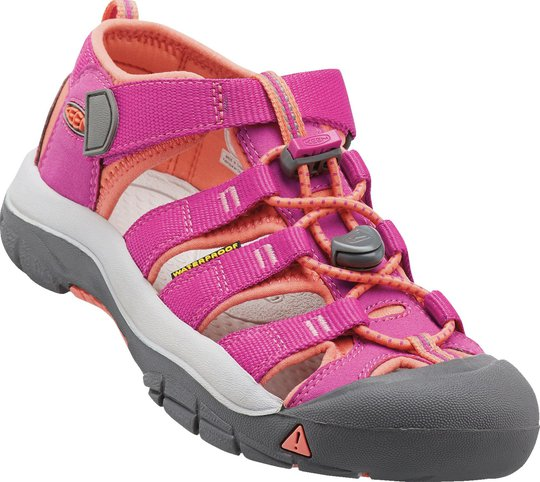 KEEN Newport H2 Sandal, Very Berry/Fusion Coral 19