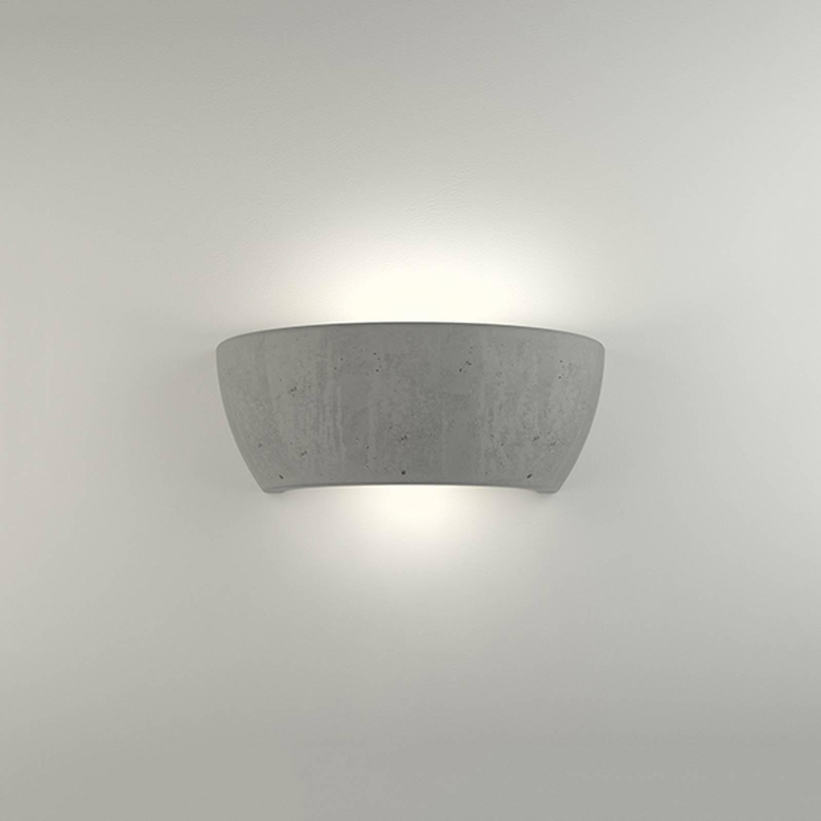 LED-seinävalo 2457 betoni, 3000K, ei himmennettävä