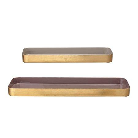 Tray, Multi-color, Metal