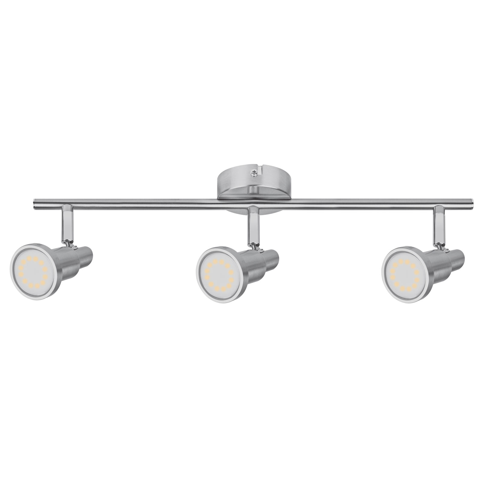 LEDVANCE Niclas LED-kohdevalaisin nikkeli 3-lampp.