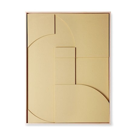 Framed Relief Art Panel Sand A Extra Large