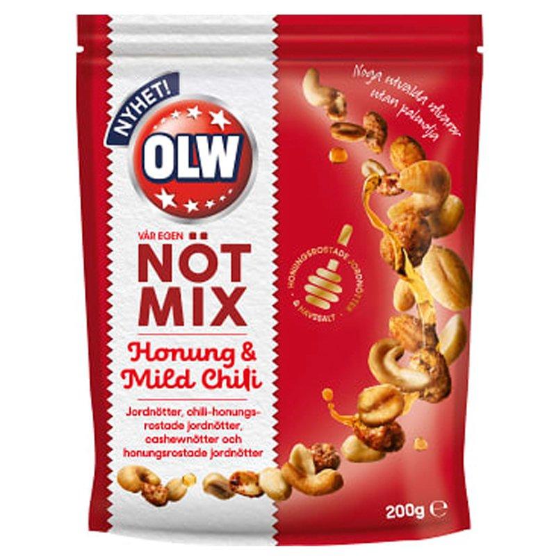 Nötmix Honung & Mild Chili - 27% rabatt