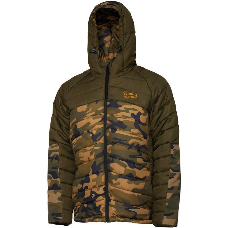 Prologic Bank Bound Jacket XL Foret og vannavisende, grønn/camo