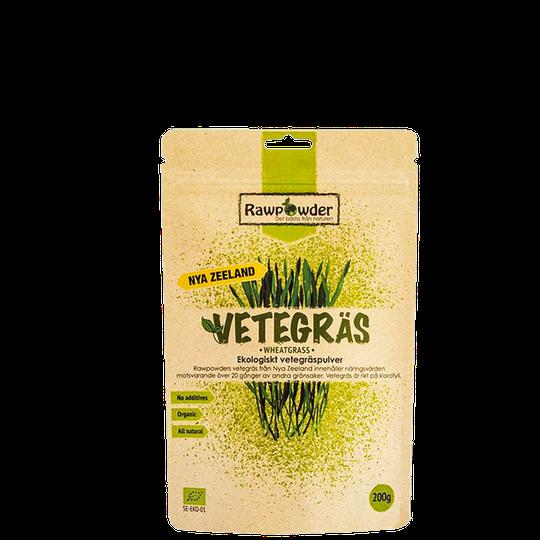 Vetegräs Nya Zeeland, Ekologiskt vetegräs, 200 g