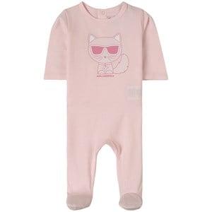 Karl Lagerfeld Kids Choupette Sparkdräkt Rosa 3 mån