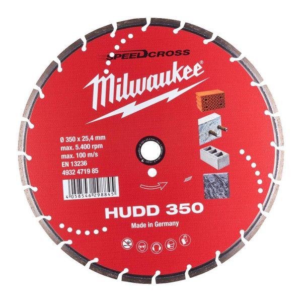 Milwaukee Speedcross Diamantskive HUDD