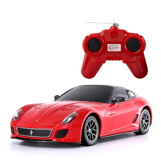 Rastar - Ferrari 599 GTO , Red - R/C 1:24 (23040)