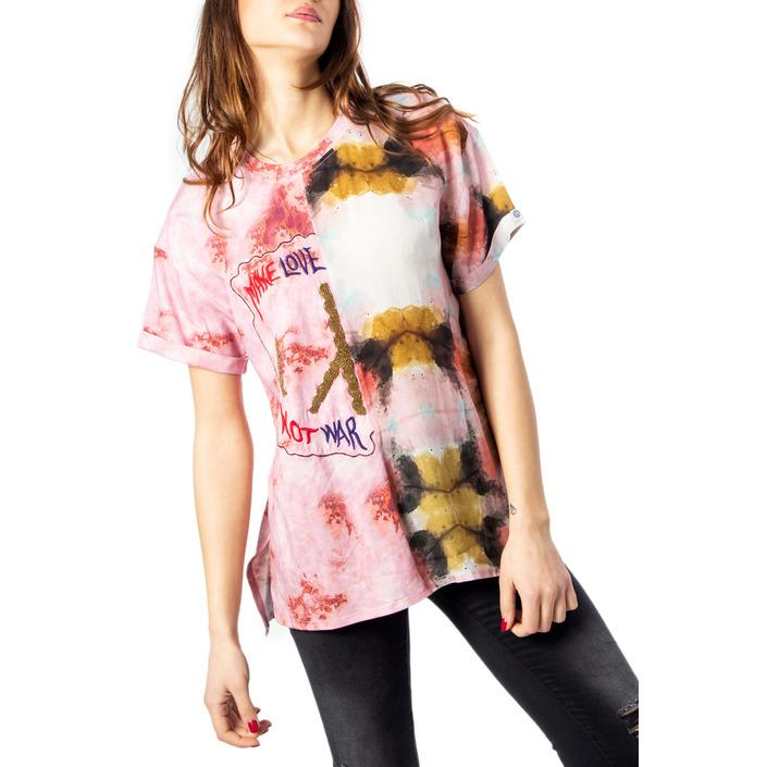 Desigual Women's Top Pink 170485 - pink S