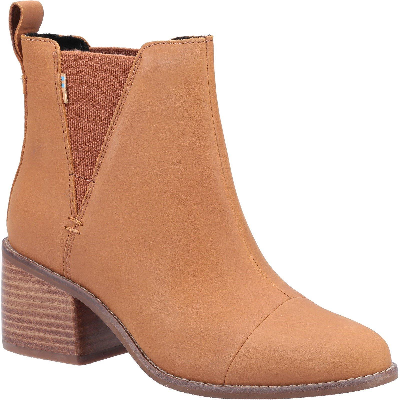 TOMS Women's Esme Boot Tan 32645 - Tan 5
