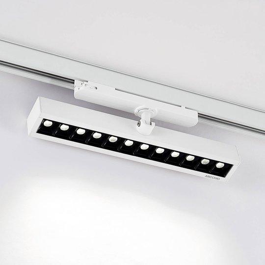Arcchio Millay -LED-kiskokohdevalo valkoinen 4000K