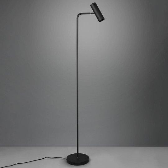 Gulvlampe Marley, matt svart