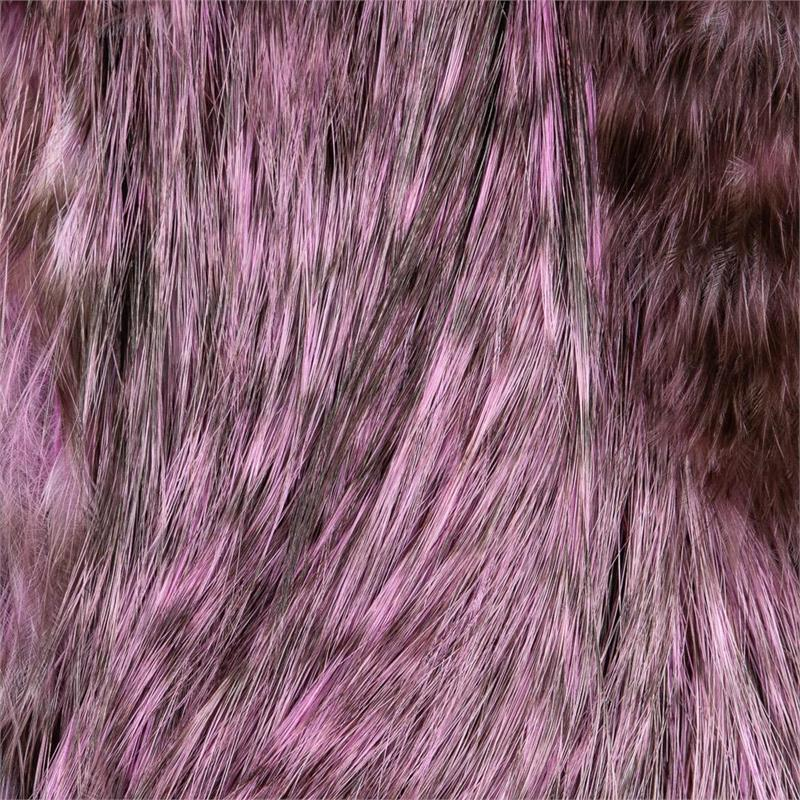 Whiting Bird Fur Grizzly/Shell Pink