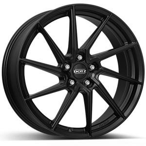 DOTZ Spa black 7.5x17 5/100 ET45 B60.1