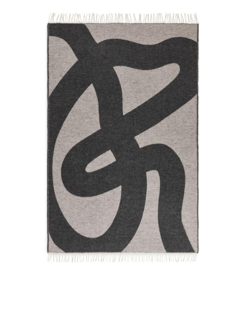 Klippan Wool Blanket - Black