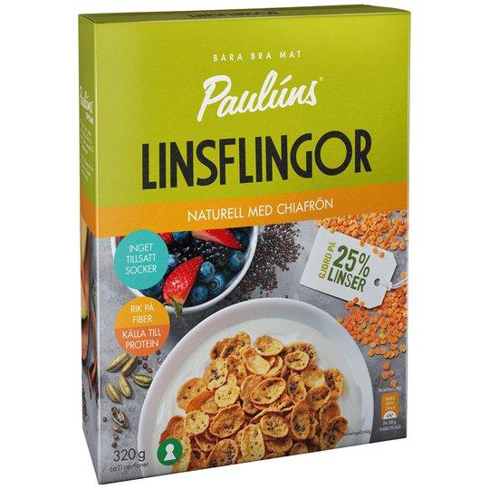 Linsflingor Naturell - 31% rabatt