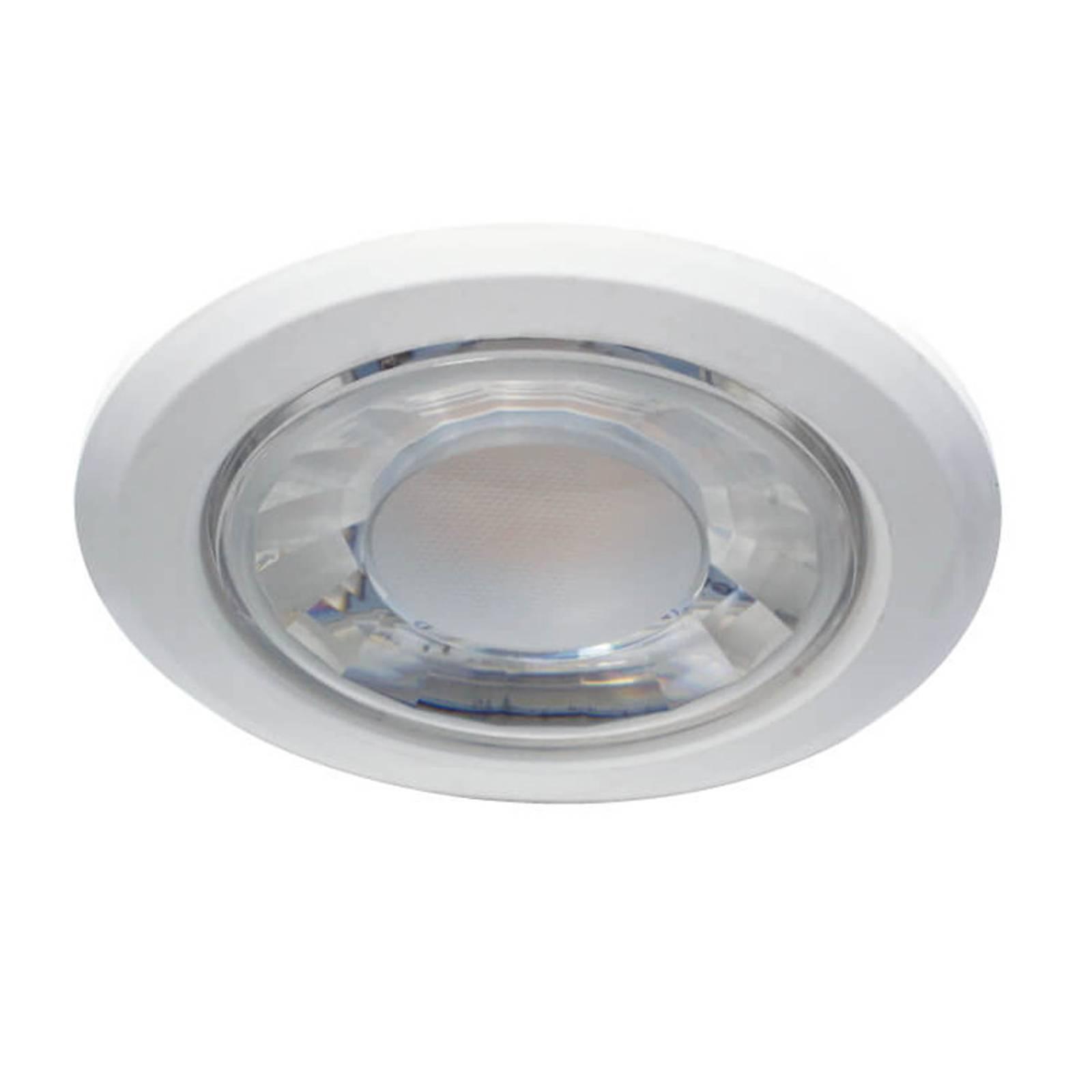 LED-uppokohdevalaisin Dekto 10,5cm 60° 15W 2700K