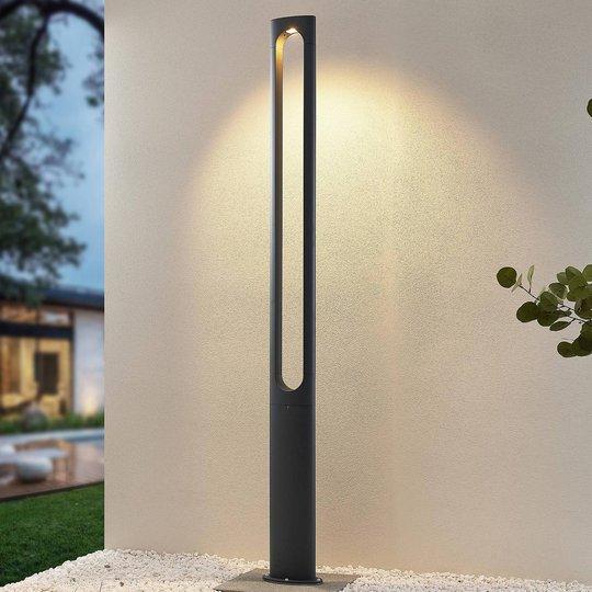 Lucande Dovino -LED-pylväsvalaisin, 200 cm