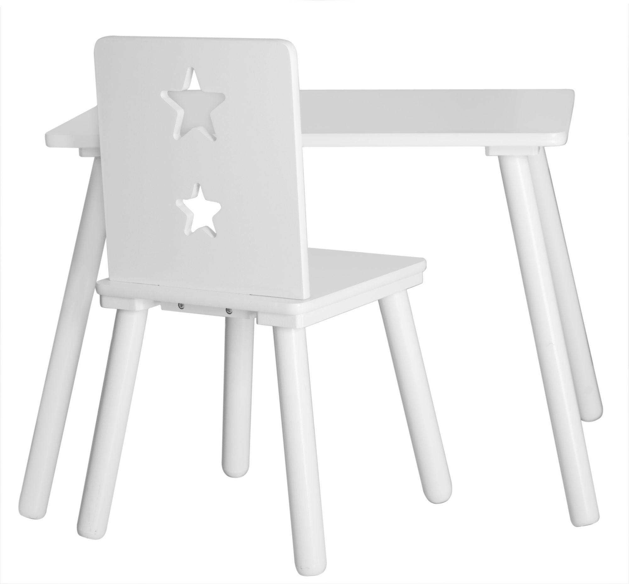 Kids Concept Pöytä Star, Valkoinen
