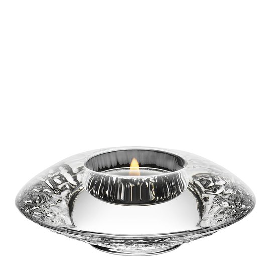 Orrefors - Discus Ljuslykta 11,1 cm Klar