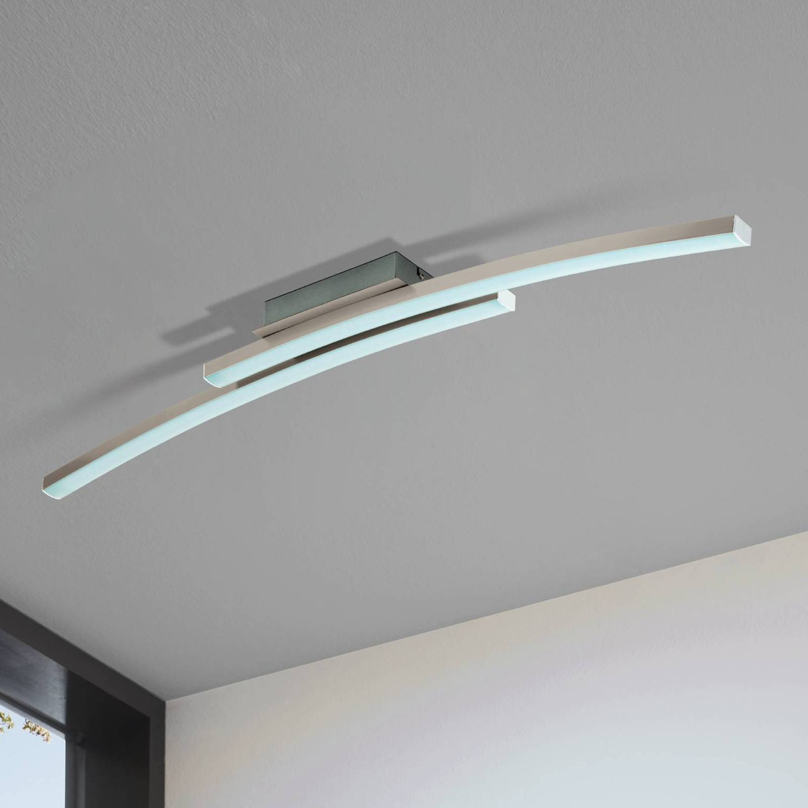 EGLO connect Fraioli-C -LED-kattovalaisin, kaareva